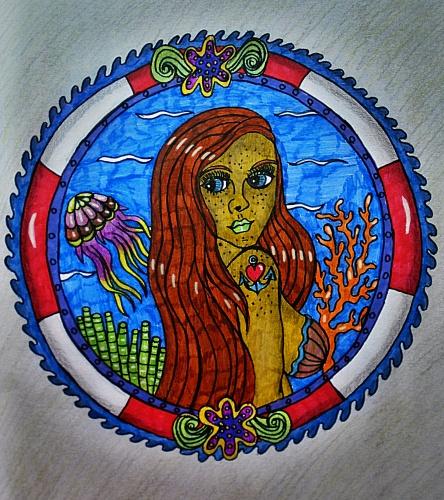 Mořská panna (wolfgoth)