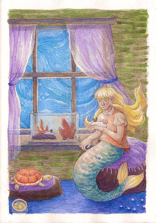 Mořská panna s králíčky (yeyeyy)