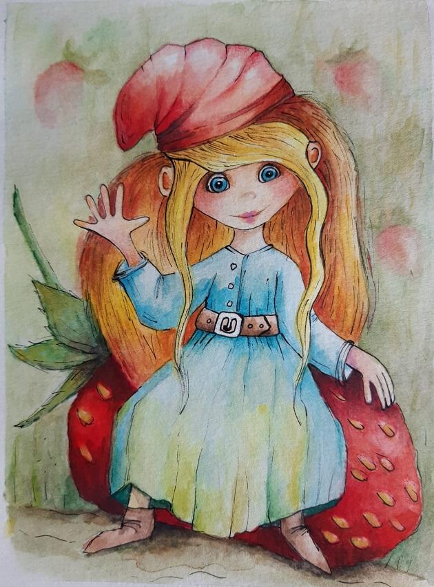Malá jahodová (Jituska)